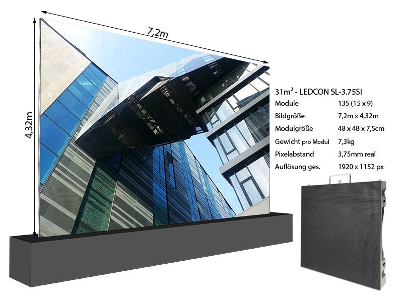 LED-Wand-7,20m-x-4,32m---3,75mm-LEDCON-SL-3,75SI-+-Info