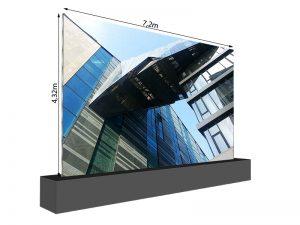 LED Wand 7.20m x 4.32m - 3.75mm LEDCON SL-3.75SI mieten