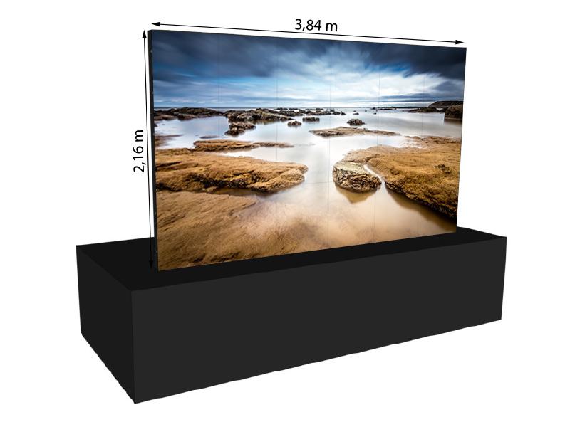 LED Wand 3,84m x 2,16m – V:LED VSF6 mieten