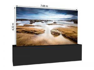 LED Wand 7.68m x 4.32m - V:LED VSF6 mieten