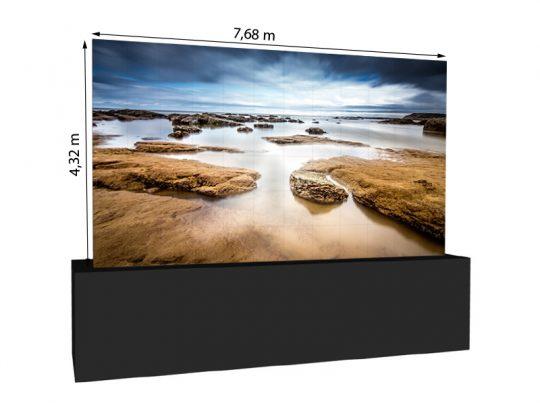 LED Wand 7,68m x 4,32m – V:LED VSF6 mieten