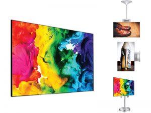 55 Zoll OLED doppelseitiges Display - LG 55EH5C als Komplettset (Neuware) kaufen