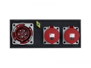 Strom-Unterverteilung 125 A CEE-Rot|2 x 63 A CEE-Rot - Indu Electric mieten