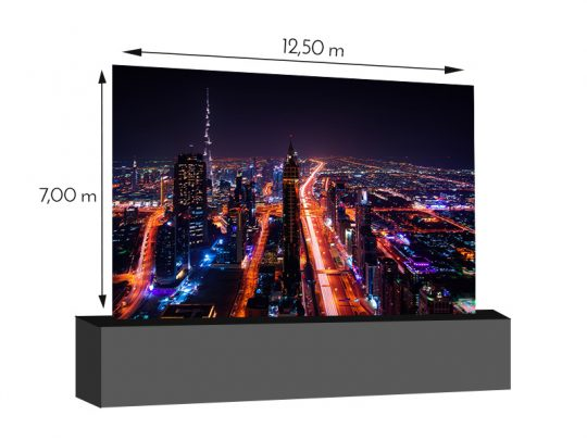 LED Wand 12,50m x 7,00m - 5.9mm INFiLED ER5pro mieten