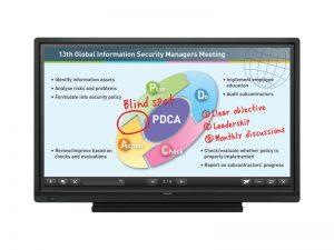 70 Zoll Multi-Touch Display - Sharp PN-70SC5 (Neuware) kaufen