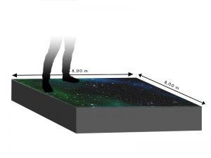 LED Boden 8.00m x 8.00m - 5.95mm Innlights InnScreen M5 mieten