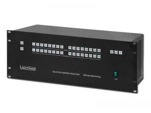 DVI Kreuzschiene 16x16 - Lightware MX 16x16 DVI Pro (Gebrauchtware) kaufen