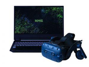 Set VR-Brille und 15.6 Zoll Laptop - HTC Vive Pro und XMG Pro 15 mieten
