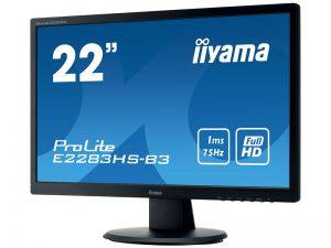 21.5 Zoll Widescreen Monitor - iiyama E2283HS-B3 (Neuware) kaufen