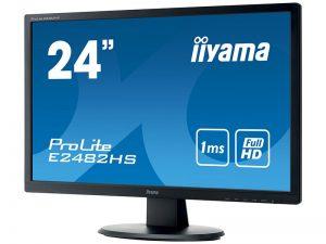 24 Zoll Widescreen Monitor - iiyama E2482HS-B1 (Neuware) kaufen