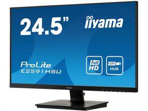 24.5 Zoll Widescreen Monitor - iiyama E2591HSU-B1 (Neuware) kaufen
