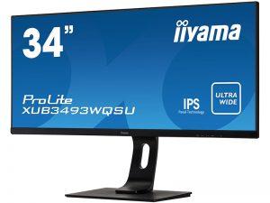 34 Zoll Widescreen Monitor - iiyama XUB3493WQSU-B1 (Neuware) kaufen