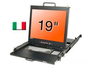 19 Zoll KVM Terminal PRO IT - Lindy 21621 (Neuware) kaufen